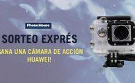¡Participa en el sorteo #PorTuCaraDeMartes y gana una cámara de acción Huawei!