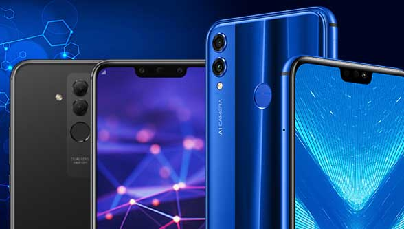 honor 8x huawei mate 20 lite