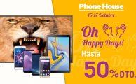 Hasta un 50% de descuento en móviles, televisiones y tablets en los Oh Happy Days