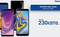 Hasta 230 euros de descuento en móviles Samsung en la Samsung Blue Week de Phone House