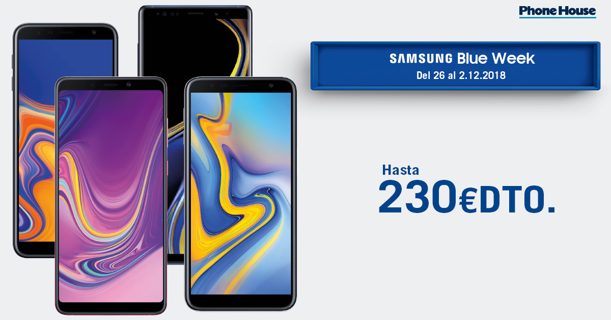 Samsung Blue Week