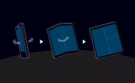 Samsung muestra por fin su pantalla plegable, Infinity Flex Display