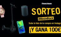 ¡Participa en el SORTEO #MesInBlack y gana un cheque regalo de 100€ para gastar en phonehouse.es!