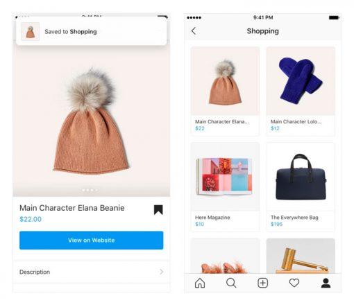 Instagram lista de la compra