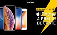 Solo hoy, 13 de noviembre, compra cualquier iPhone a precio de coste