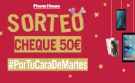 ¡Participa en el sorteo #PorTuCaraDeMartes y gana un cheque de 50€!