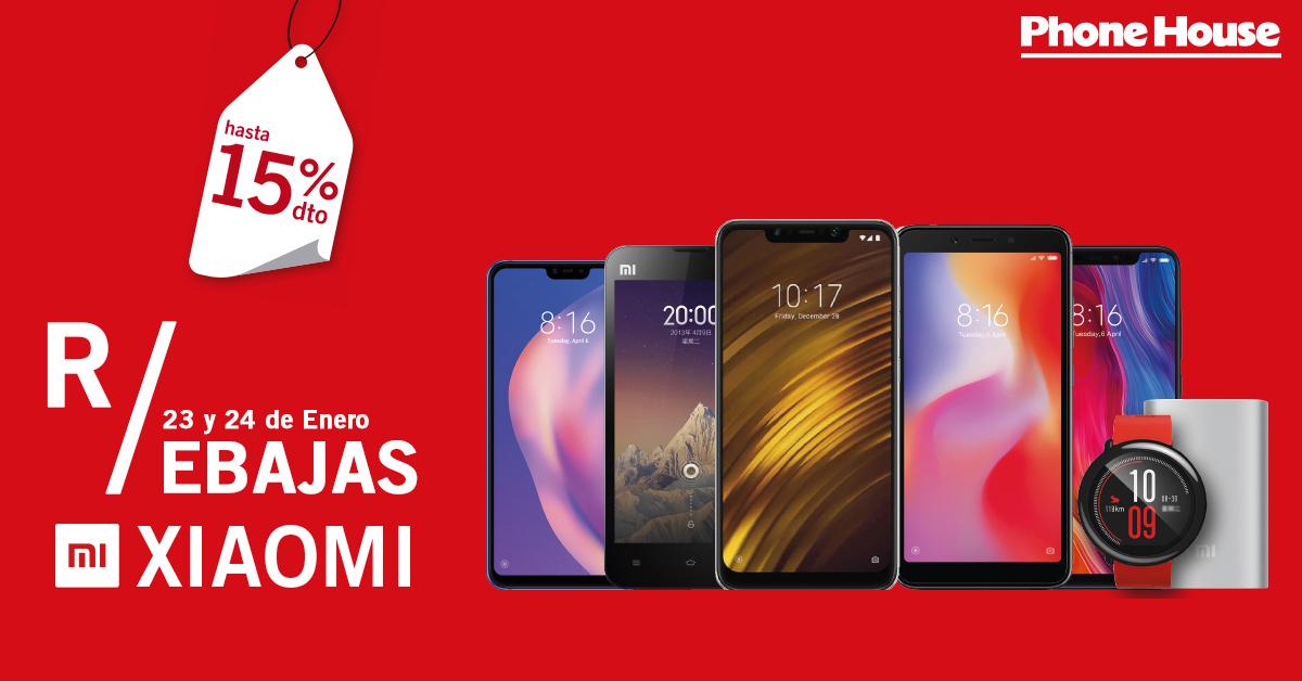 Rebajas Xiaomi