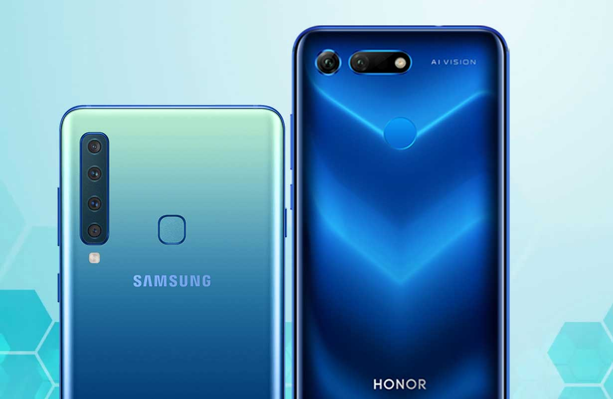 Samsung Galaxy A9 Vs Honor View 20
