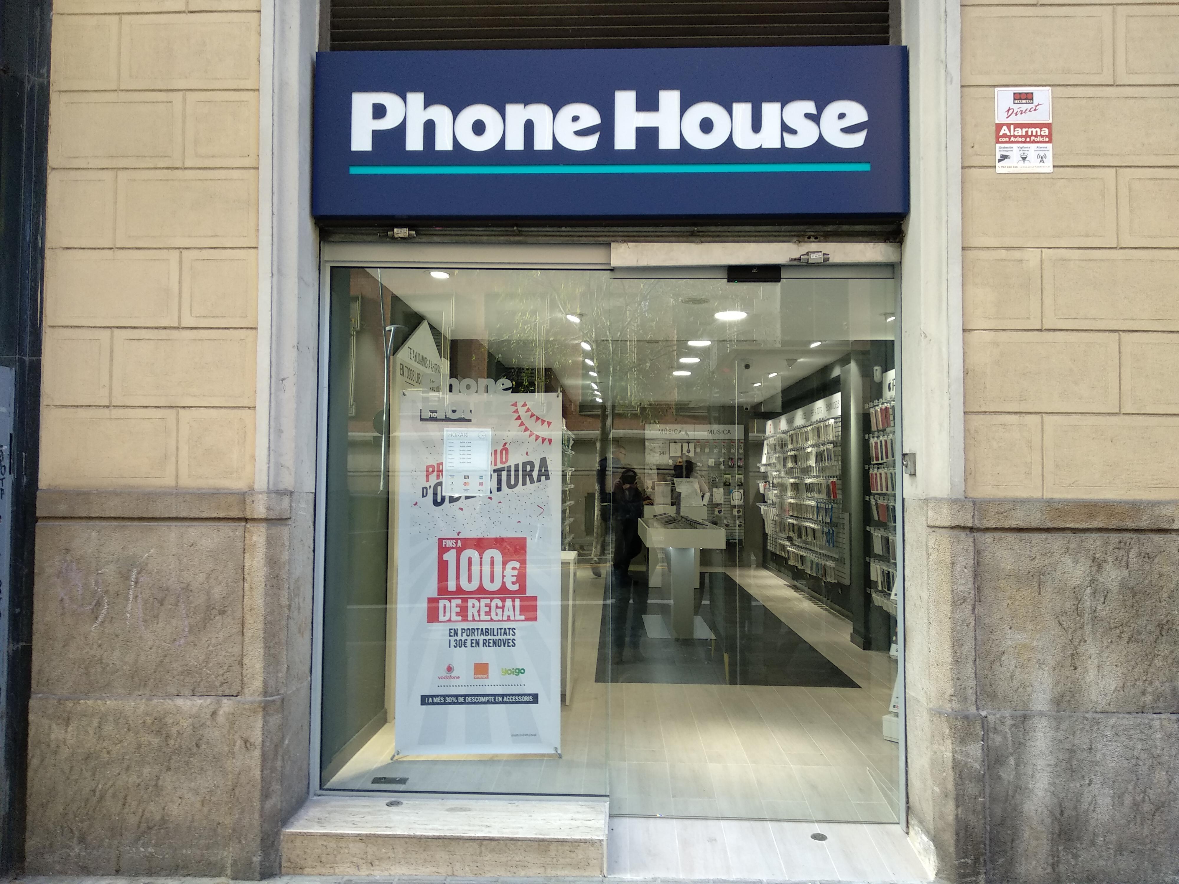 Tienda Phone House en Villarroel
