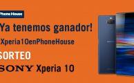 Ganador Sony Xperia 10 en Phone House