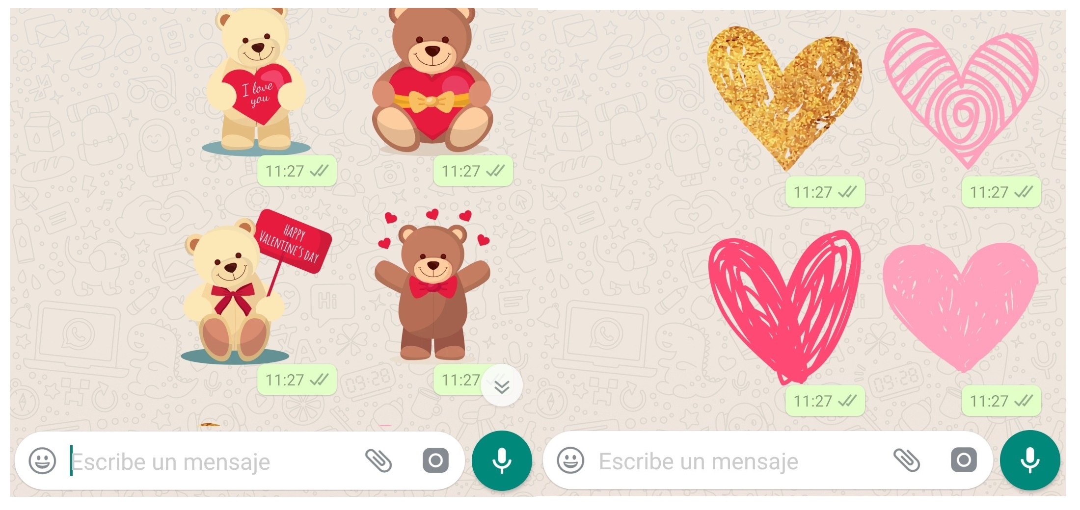 Stickers San Valentin