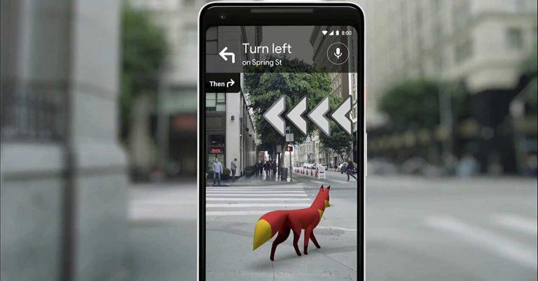 Realiad Aumentada En Google Maps