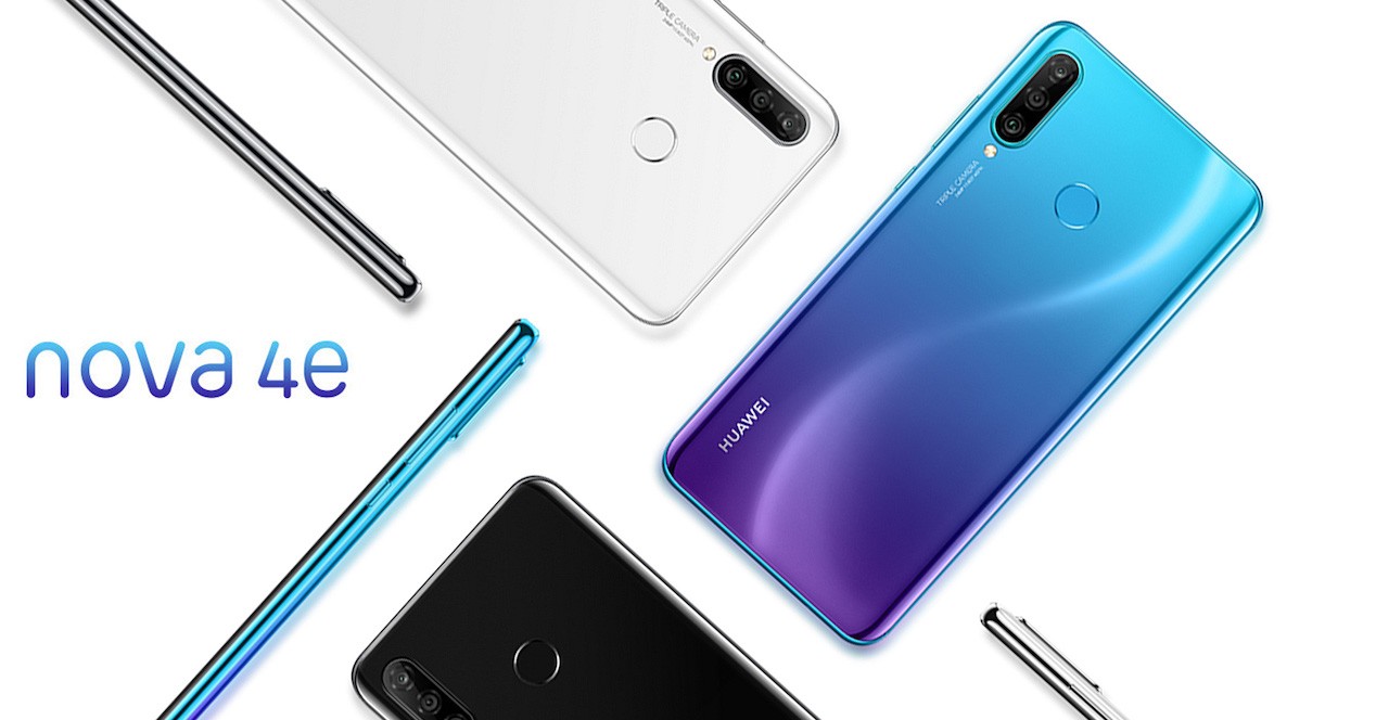 Huawei Nova 4e Smartphone