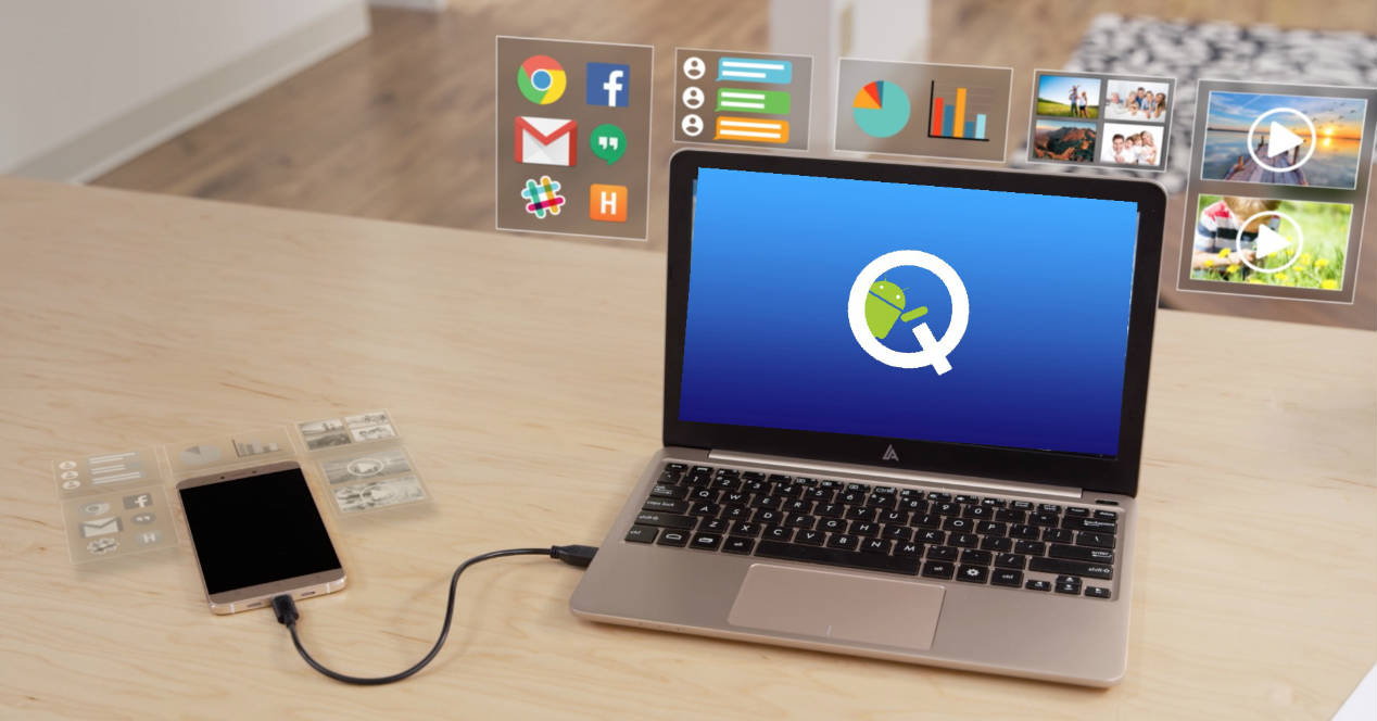 Android Q modo Escritorio