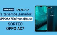 Sorteo Oppoax7 Ganador