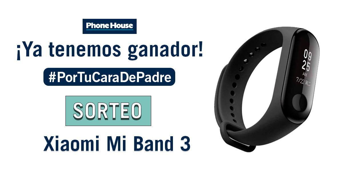 Ganador Sorteo Phone House regalo Xiaomi Mi Band 3 (pulsera de actividad)