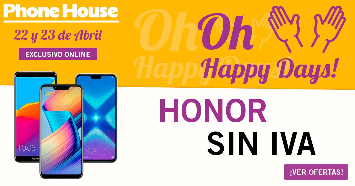 Oh Happy Days Sin Iva