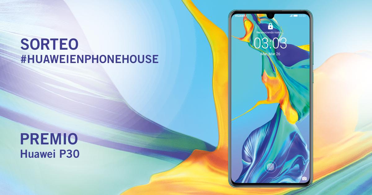 Sorteo Phone House Huawei P30