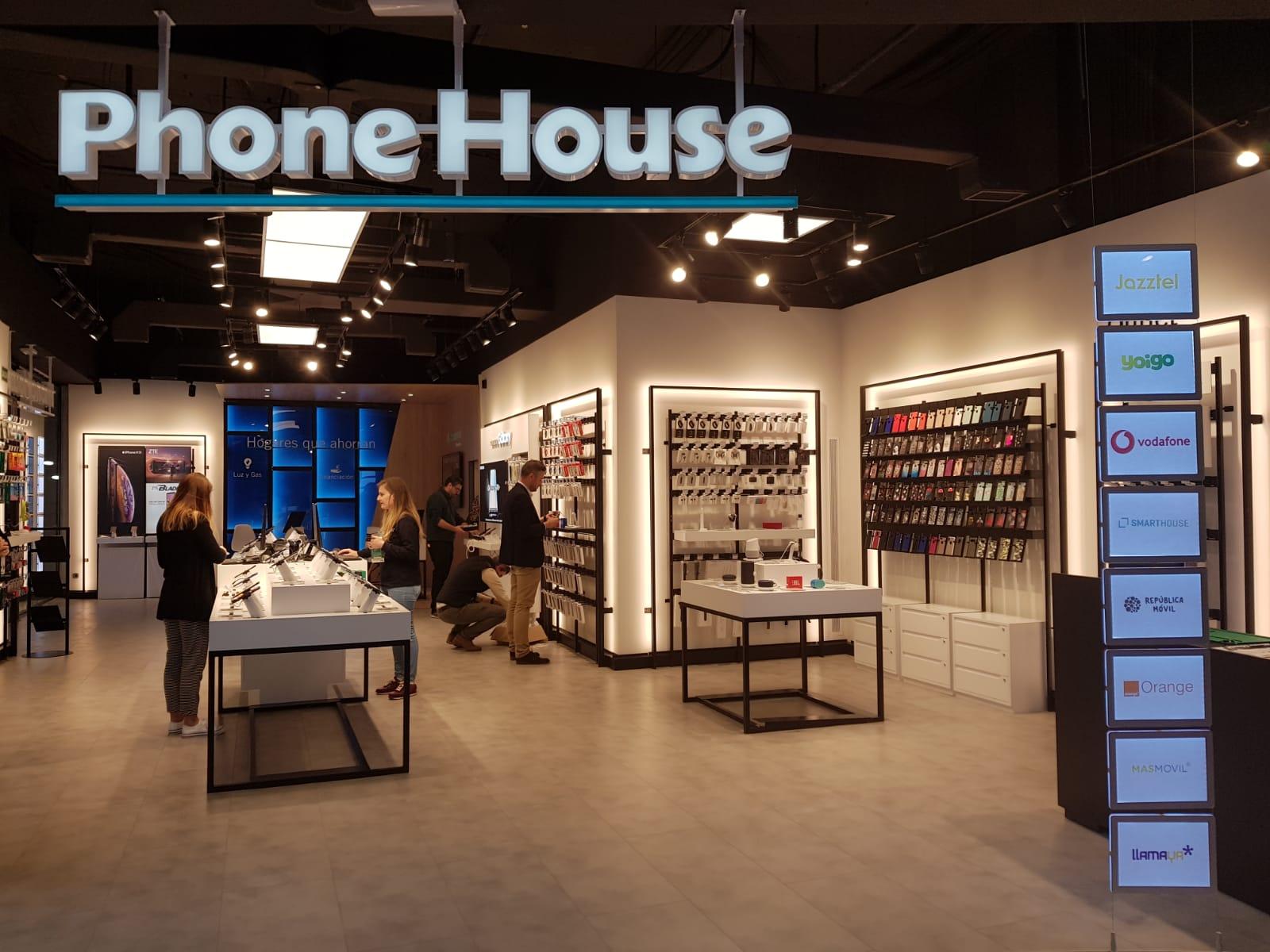 Tienda Phone House Con Nuevo Concepto