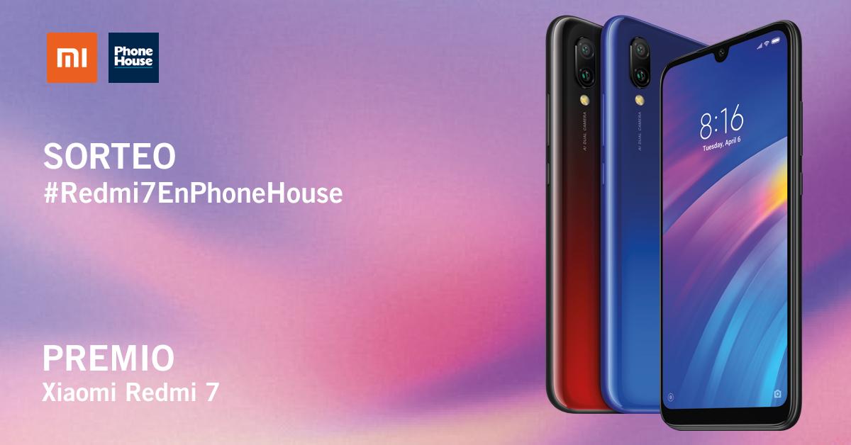 Sorteo Phone House Xiaomi Redmi 7