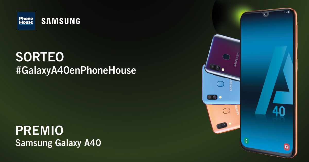 Ganador sorteo Phone House Galaxy A 40