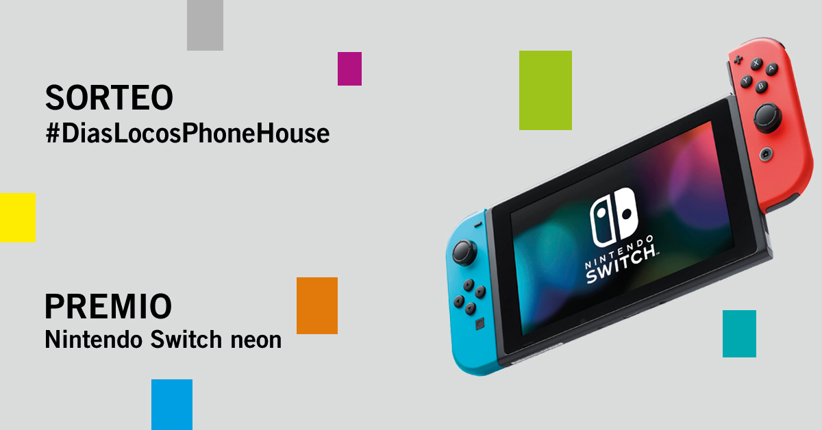 Sorteo Phone House Días Locos Nintendo Switch
