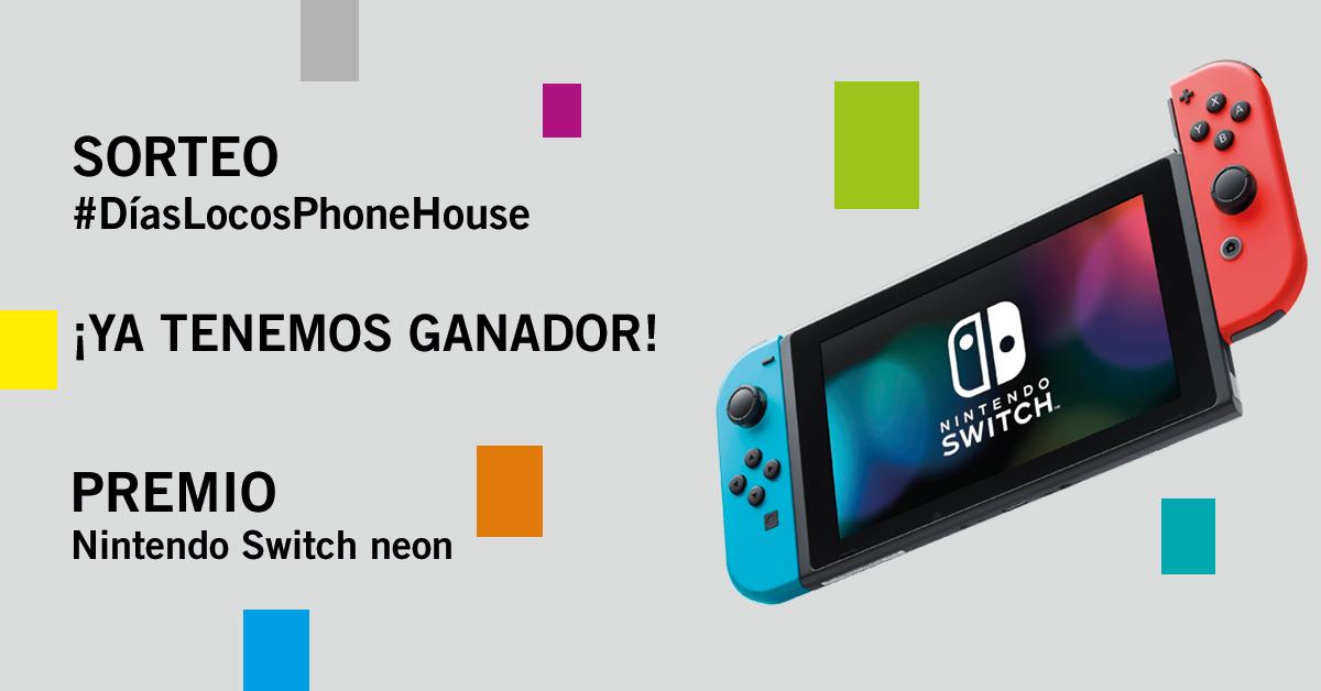 Sorteo Phone House Nintendo Switch