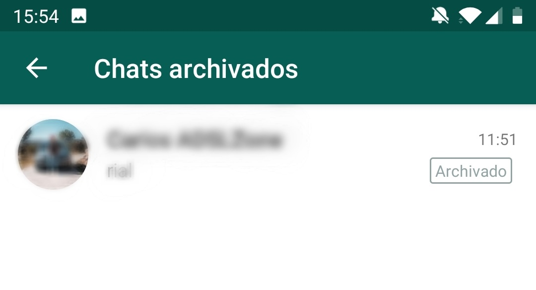Chats Archivados