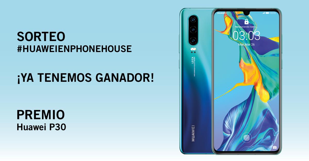 Phone House ganador sorteo Huawei P30