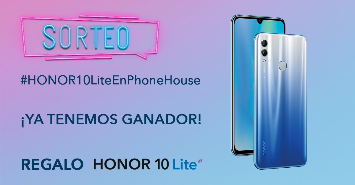 Sorteo Honor 10 Lite en Phone House