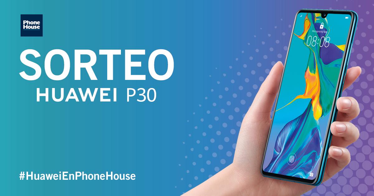 Sorteo Huawei P30