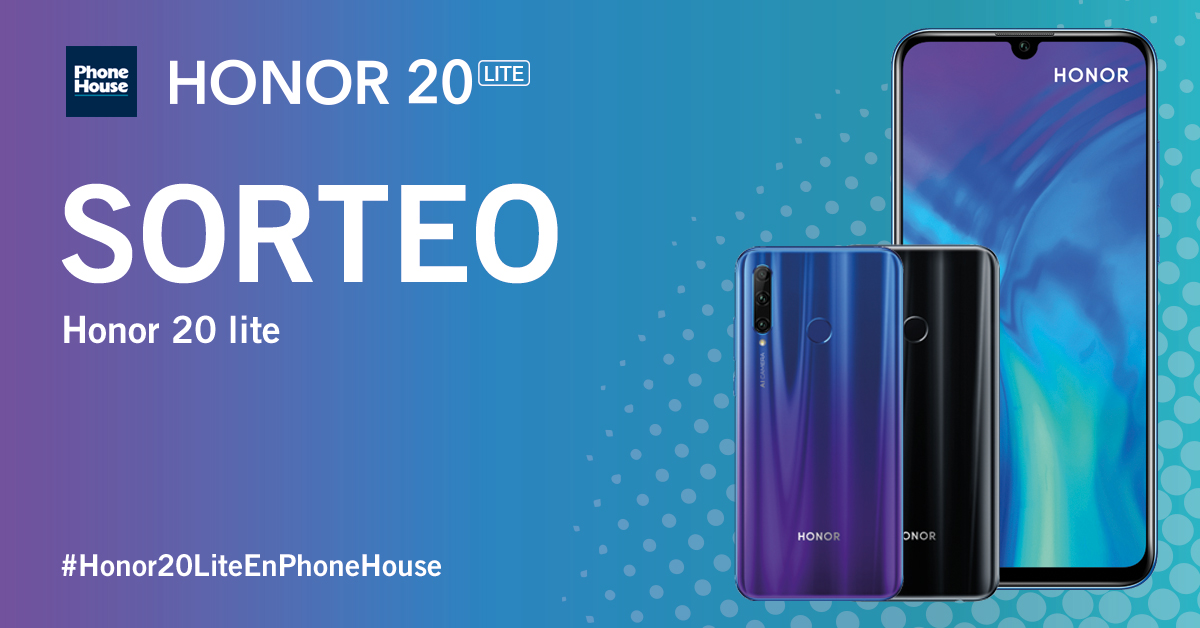 Sorteo Honor 20 Lite