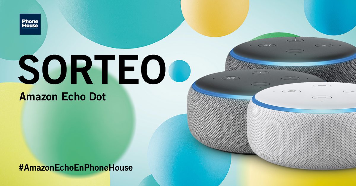 Sorteo Amazon Echo Dot