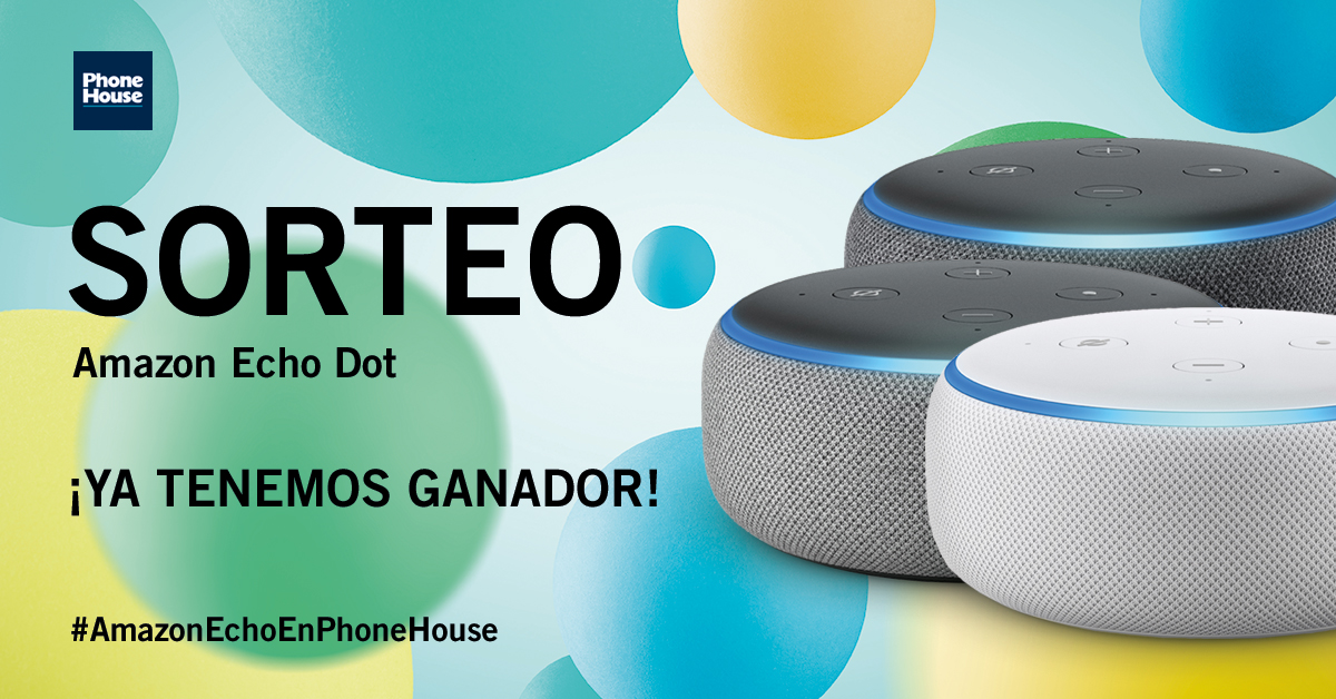 Ganador Amazon Echo Dot