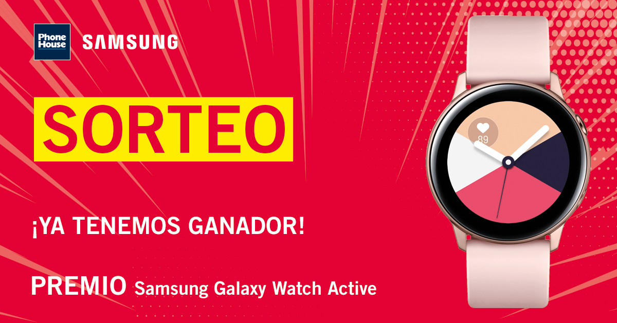 Ganador Galaxy Watch Active