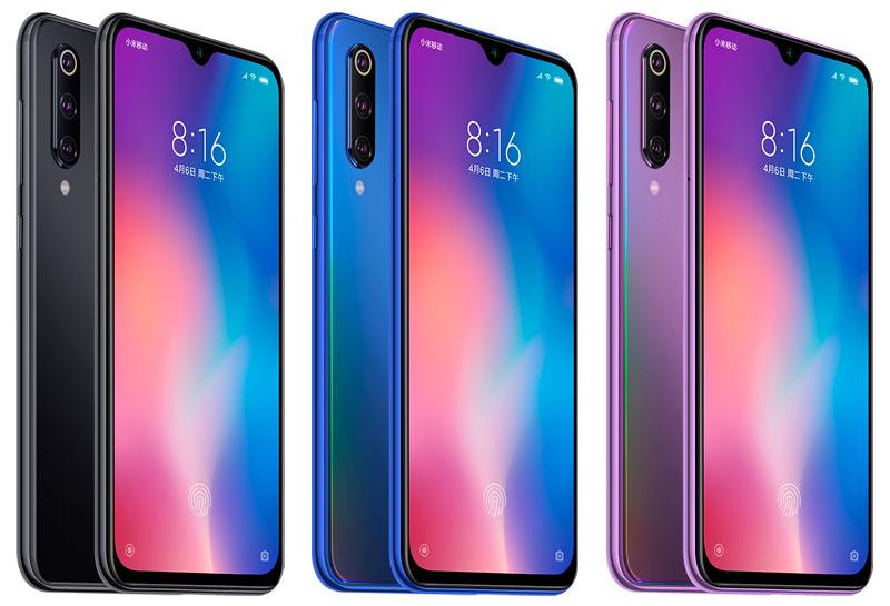 Diseño del teléfono Xiaomi Mi 9 Se