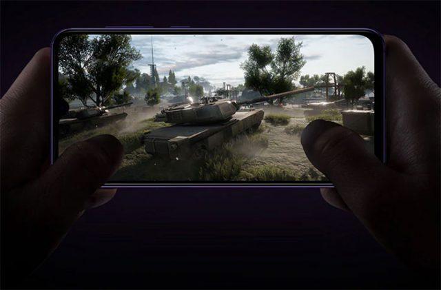 Xiaomi Mi 9 Se ejecutando juego
