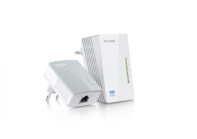 Tplink Kit Extensor Powerline Wifi