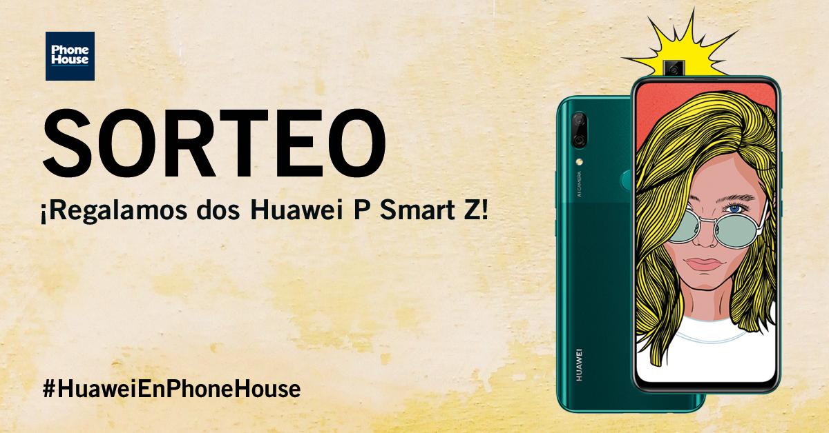 Sorteo dos Huawei P Smart Z
