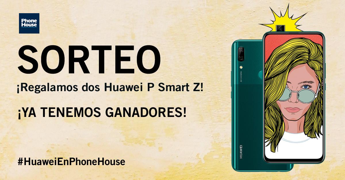Ganadores Huawei P Smart Z