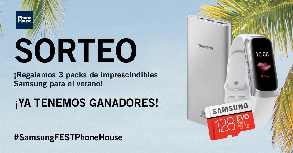 Ganador pack Samsung