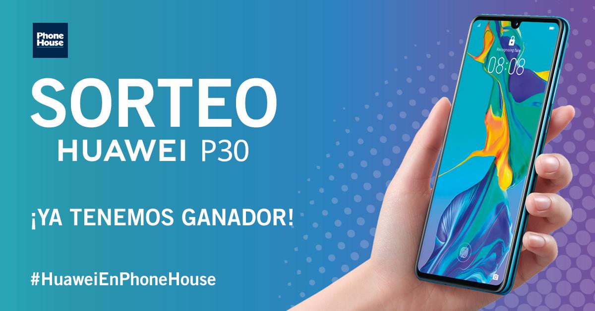 Ganador Huawei P30
