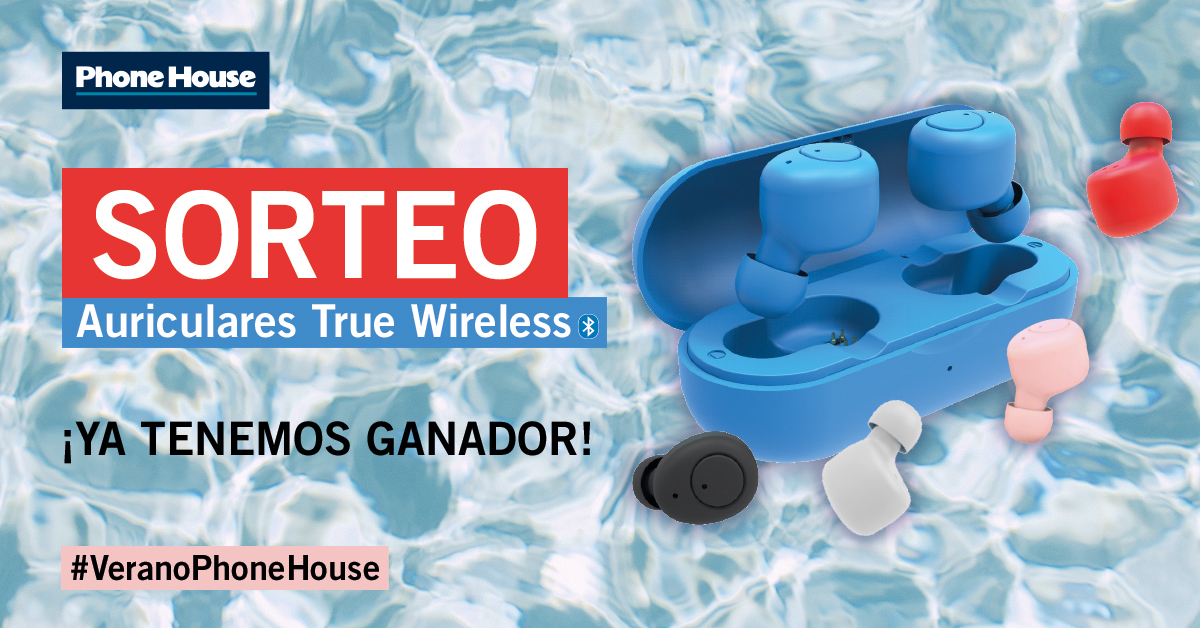 Ganador sorteo True Wireless