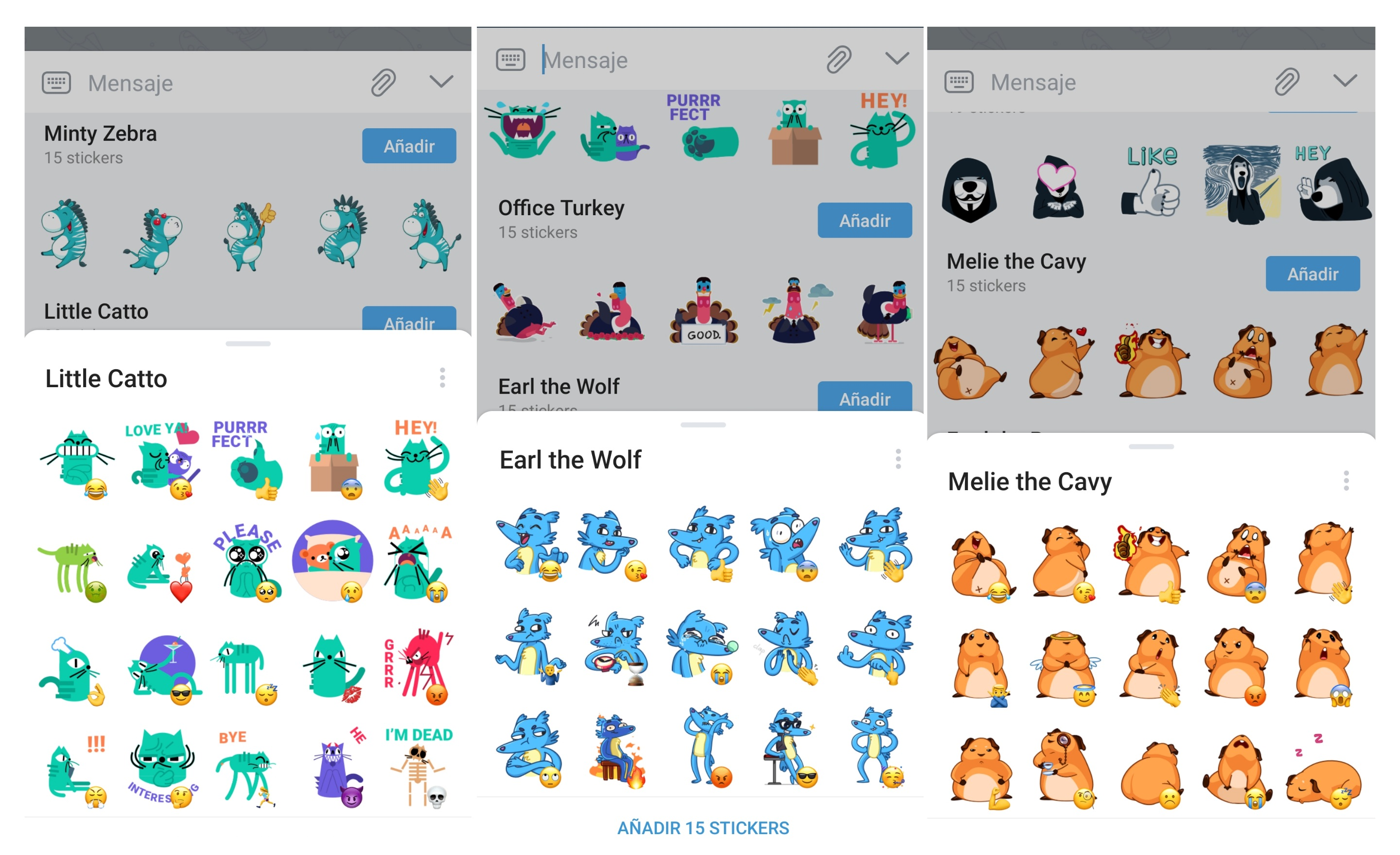 Stickers Animados De Telegram