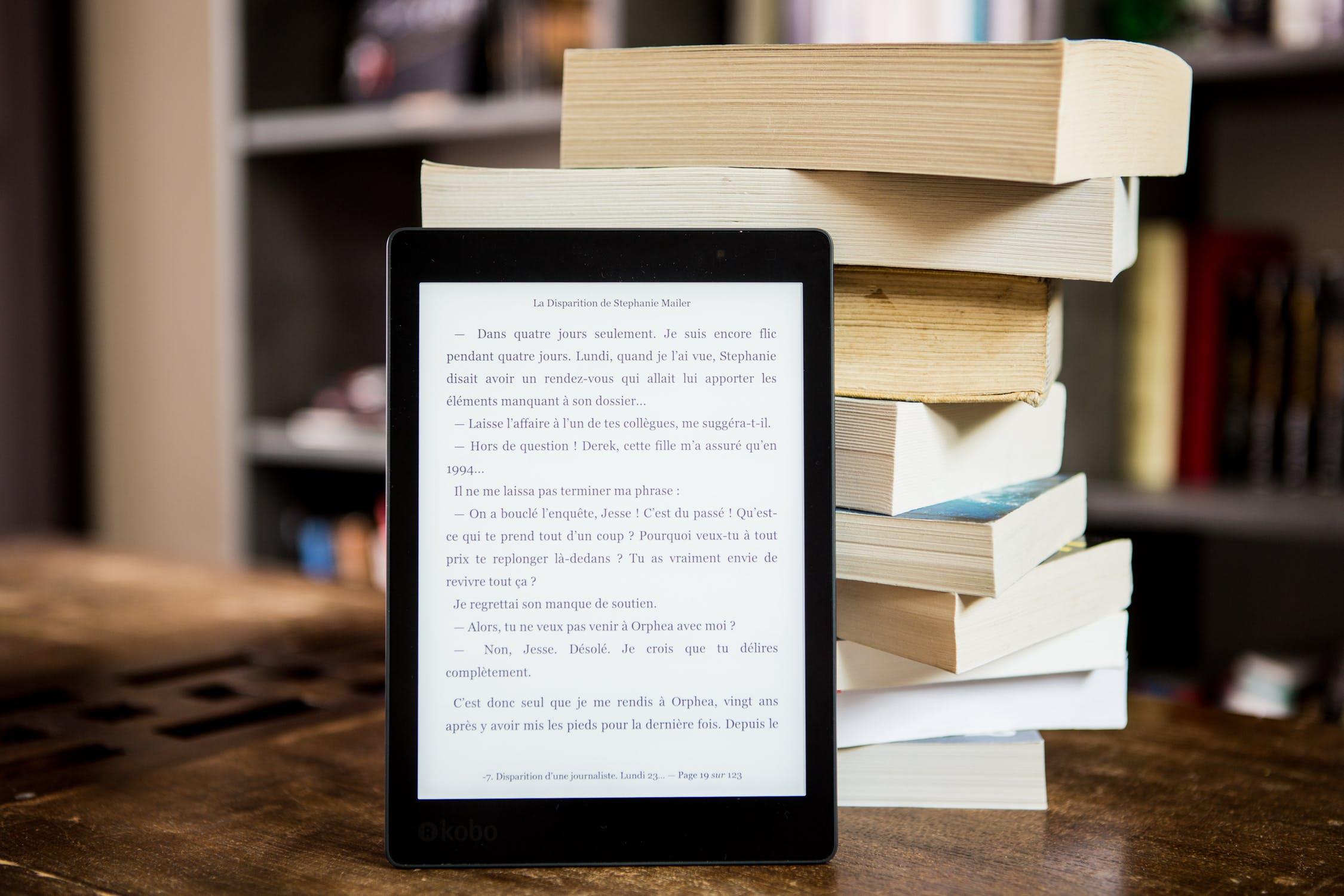 Ereader Con Libros
