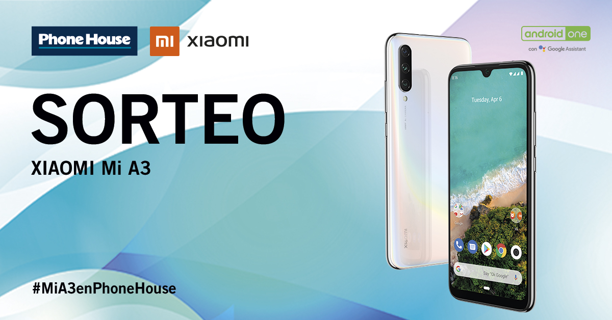 Sorteo Xiaomi Mi A3