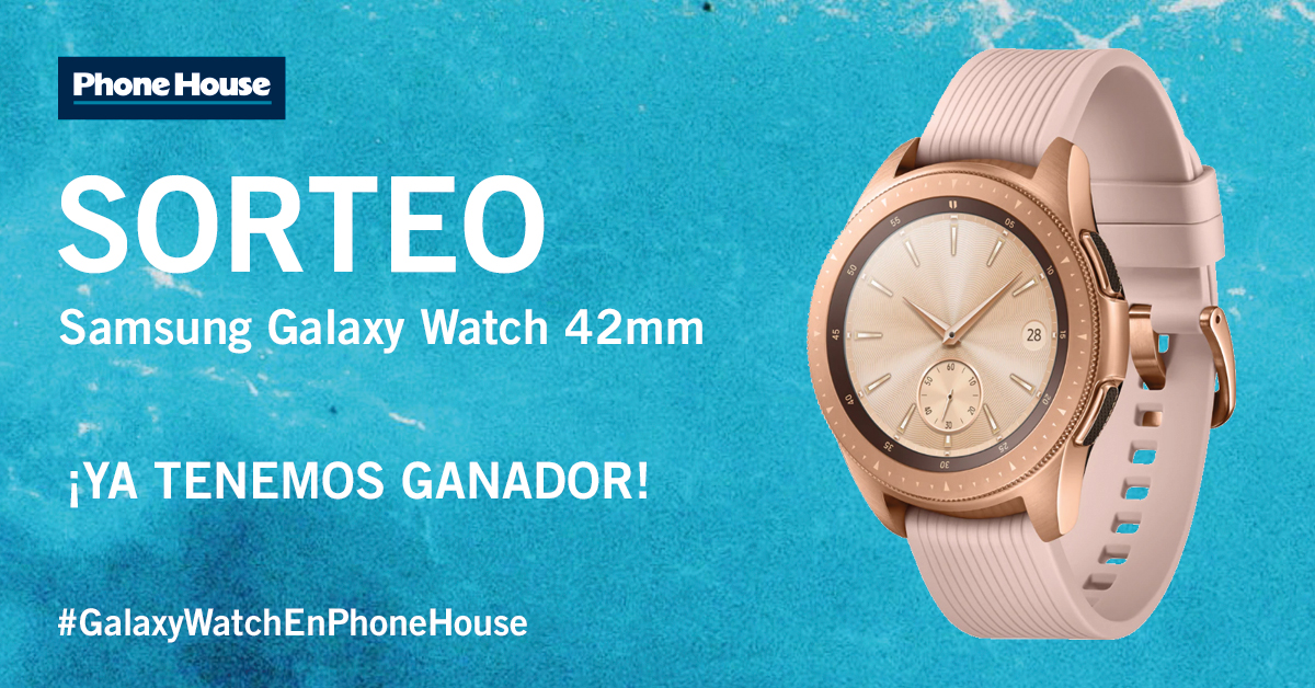 Ganador Galaxy Watch 42 mm
