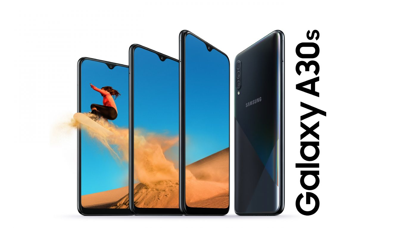 Galaxy A30s Keyvisual