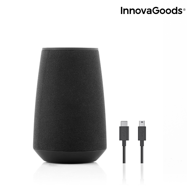 Innovagoods Altavoz Bluetooth Inteligente Asistente De Voz Vas
