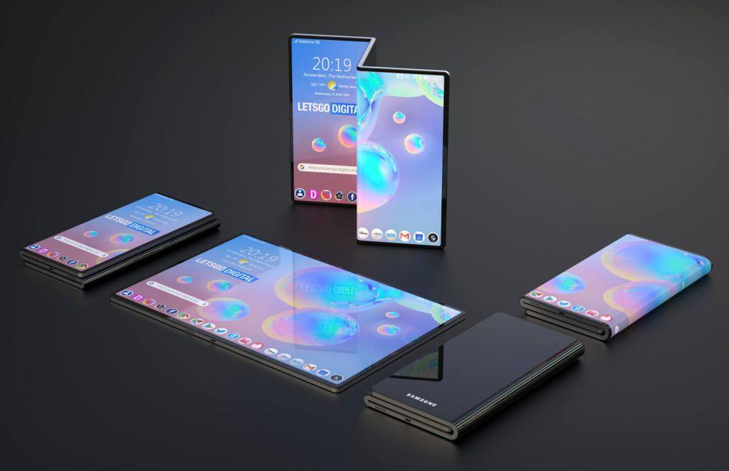 Móvil Plegable Samsung